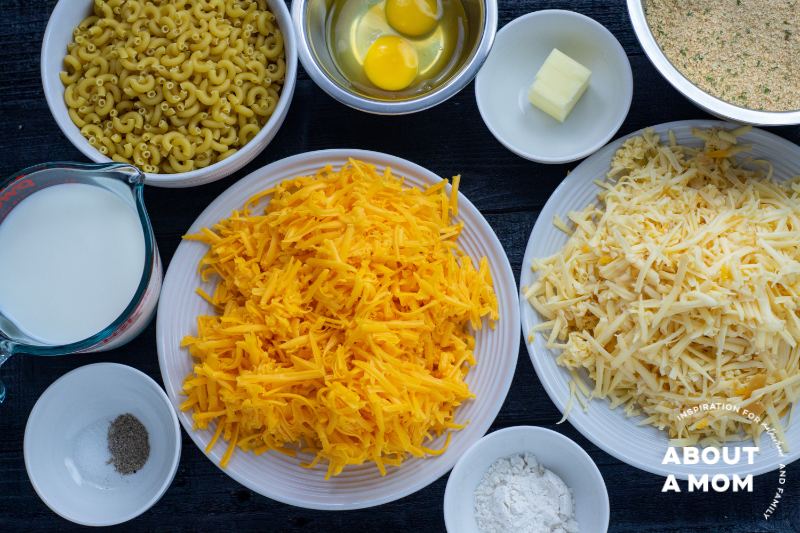 fried mac and cheese balls ingredients