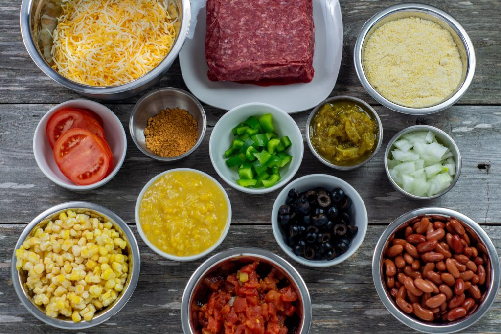 Mexican Cornbread Casserole Ingredients