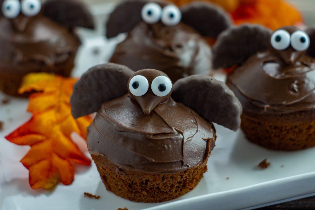 Semi-Homemade Bat Cupcakes for Halloween