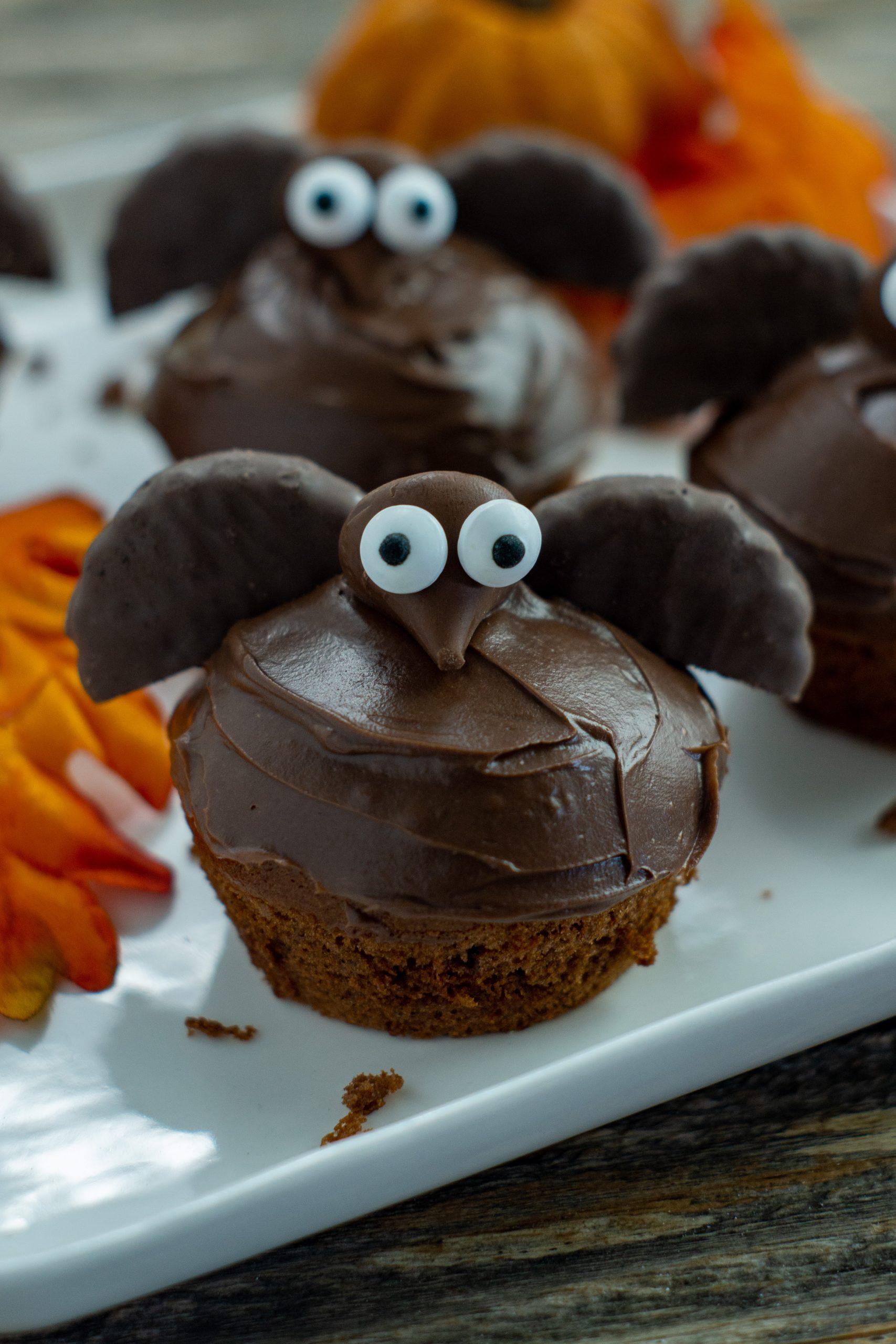 Halloween Bat Cupcakes.Semi Homemade Bat Cupcakes For Halloween About A Mom