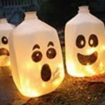 Milk Jug Ghost Lanterns