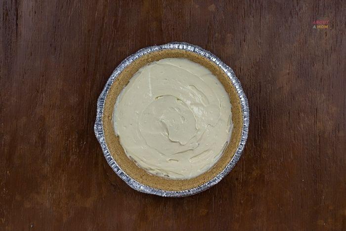 bottom layer of pumpkin cheesecake