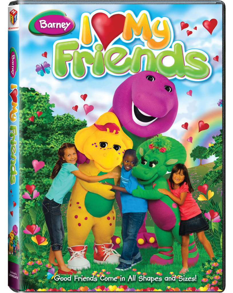 Barney: I Love My Friends on DVD - About A Mom