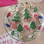 25 Days of Christmas | Christmas Crafts Bright Lights Cookie Plate DIY