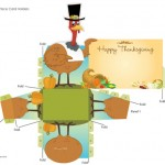 Printable Place Cards for Your Thanksgiving Dinner