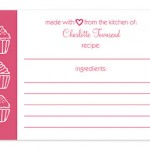 Invitation Consultants Personalized Recipe Cards Review & Giveaway