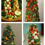 Kids In The Kitchen: How to make a Veggie Christmas Tree