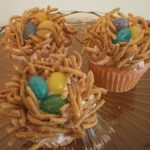 Easy Bird's Nest Cupcakes for Easter