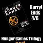 "Win ""The Hunger Games"" Book Trilogy & Movie Prize Package Giveaway"