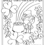 St Patrick's Day Printable Coloring & Activity Sheets