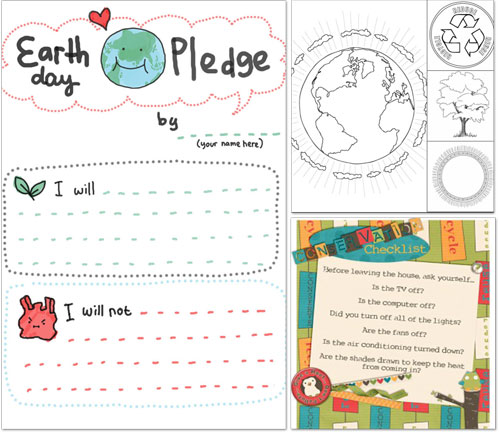 Earth Day Activities and Free Printables