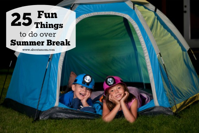 25 free or cheap things to do with the kids this summer. Are you looking for summer break boredom busters? Here are 25 fun things to do over summer break that won't break the bank.