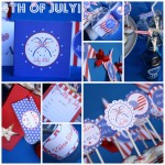 Free Fourth of July Party Printables