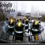 Googly Party Lights Halloween Craft