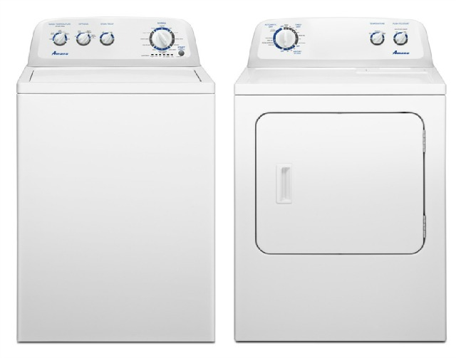 Doing Laundry the Right Way with My Amana High-Efficiency Washer and Dryer