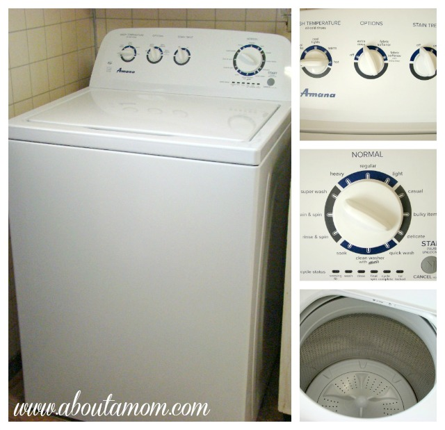 Doing Laundry the Right Way with My Amana High-Efficiency Washer and