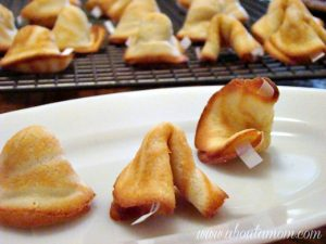 Ring in the New Year with homemade fortune cookies!