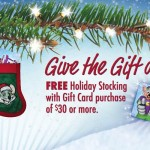 Stuff Your Stockings with Winter Fun: Chuck E. Cheese Gift Cards {Giveaway}