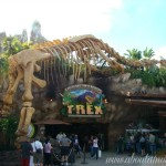 Dining with the Dinos at T-Rex Cafe in Downtown Disney