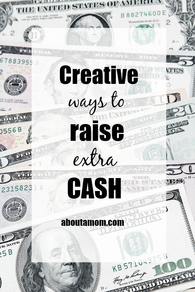 7 creative ways to raise extra cash. Long term solutions are best for improving cash flow, but sometimes you just need a quick fix and some fast cash to get you through a rough patch.