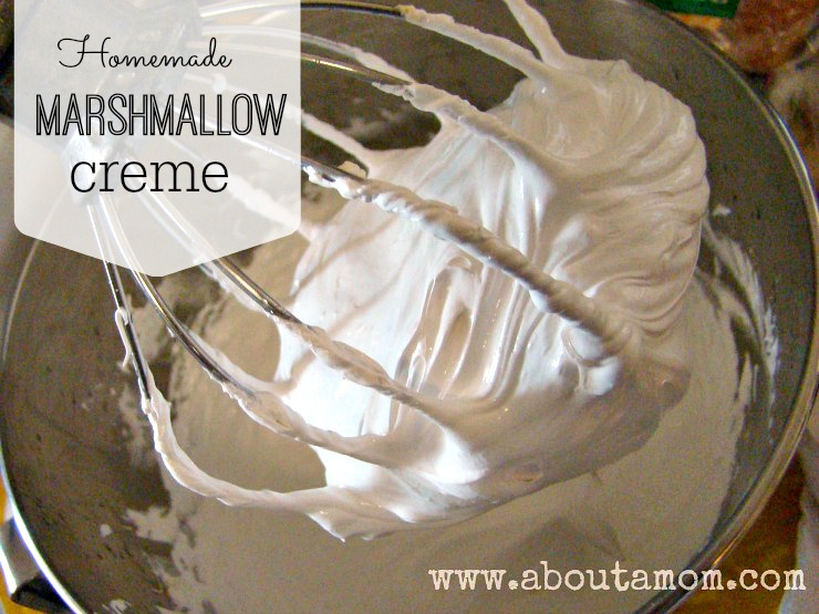 Heavenly Homemade Marshmallow Creme