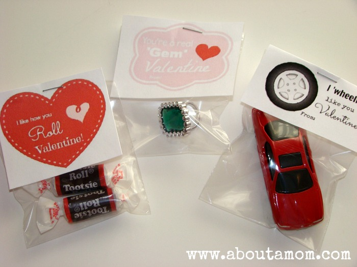 more simple homemade valentines with printables - Home Made Valentines