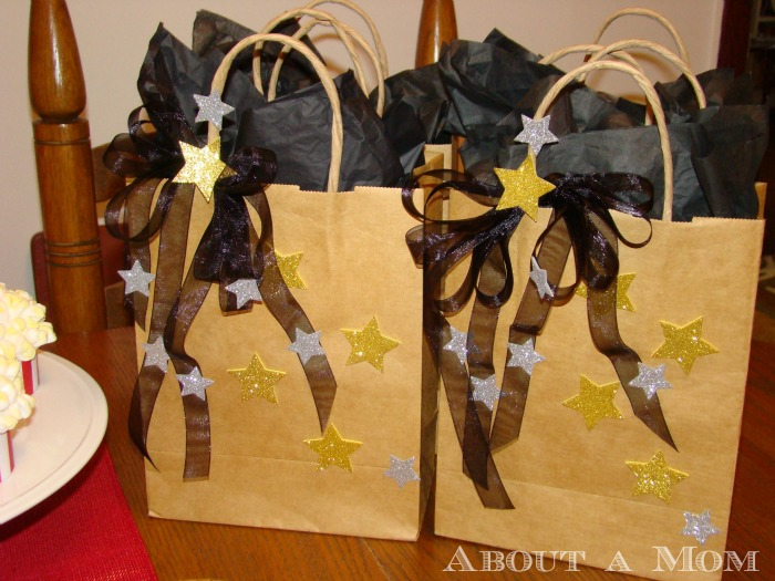 Award Show Party Ideas - Swag Bags