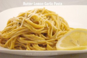 Simplify Your Kitchen and Butter Lemon Garlic Pasta Recipe