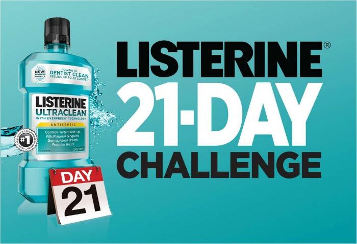 Listerine 21 Day Challenge