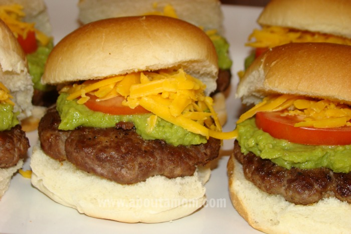 Guacamole Sliders - Award Show Party Food