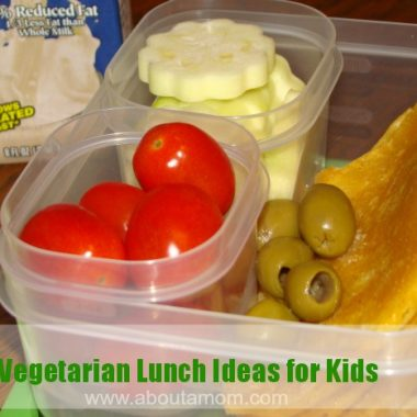 Vegetarian Lunch Ideas for Kids