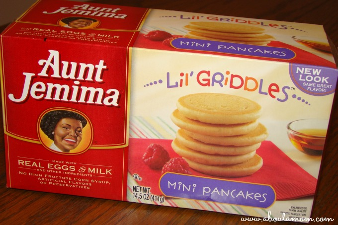 Aunt Jemima Lil' Griddles