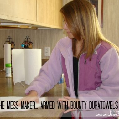 Bounty DuraTowels - Teaching Kids to Clean Up After Themselves