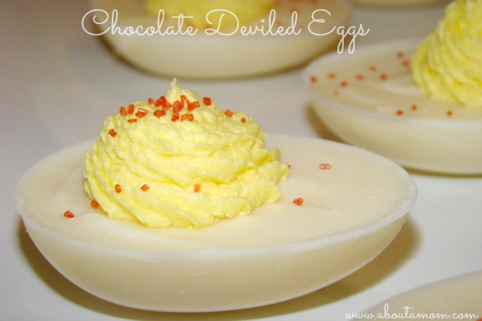 Chocolate Deviled Eggs
