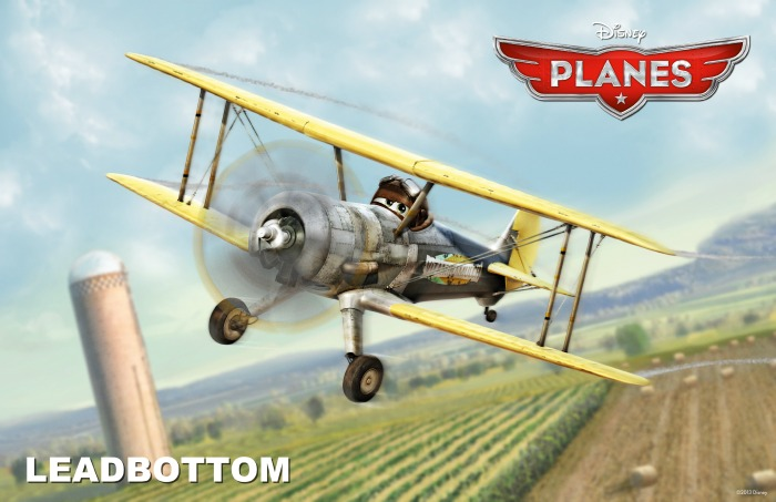 Disney Planes Leadbottom