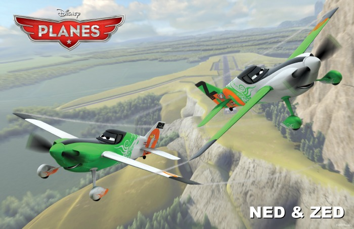 Disney Planes Ned and Zed