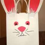 Last Minute Easter Craft :: Easter Bunny Bag