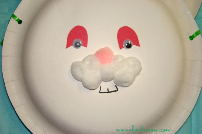 For ...  sc 1 st  About A Mom & Easter Bunny Basket Paper Plate Craft - About A Mom