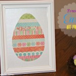 Framed Easter Art Project