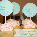 Free Easter Cupcake Topper Printable