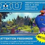 Monsters University #MonstersUEvent