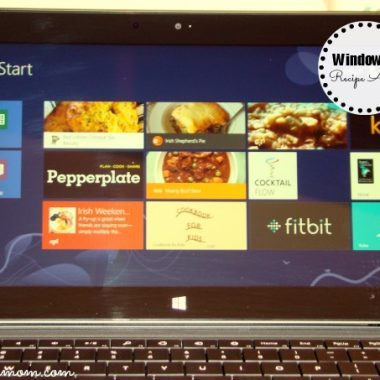 My Favorite Windows 8 Recipe Apps