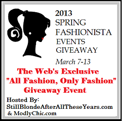 Spring Fashionista Event Giveaway