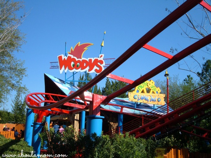 Universal Studios Mardi Gras - About A Mom Woody Woodpeckers Nuthouse Coaster