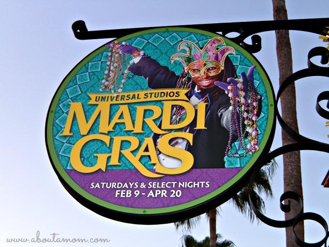Universal Studios Mardi Gras