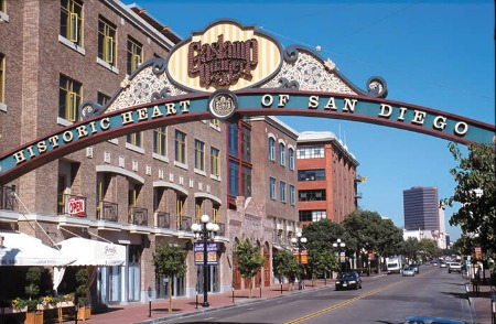 Gas Lamp Quarter San Diego