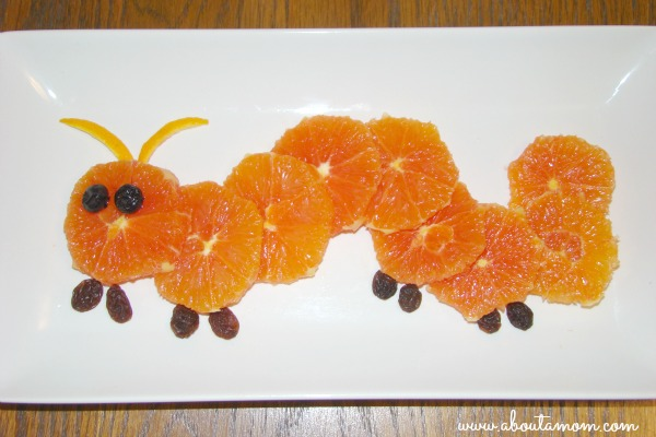 Lil Snappers Kid Size Fruit - Orange You a Caterpillar? Recipe