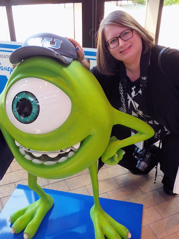 Monsters University Me and Mike
