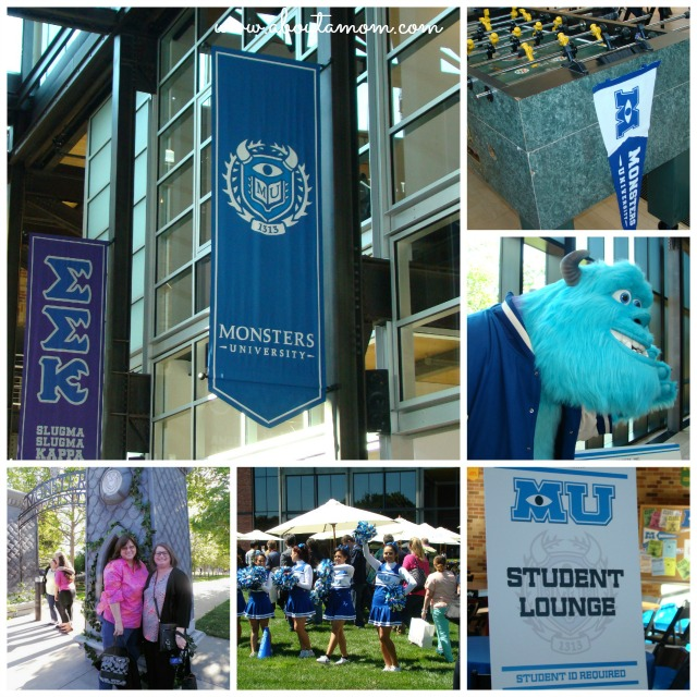 Monsters University Pixar Visit Collage