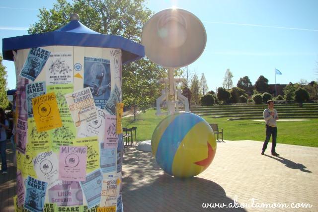 Monsters University Visit Luxo Jr and Pixar Ball